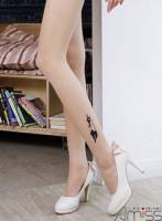 《Amiss》個性圖騰☆刺青褲襪-小花貓
