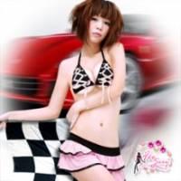 【Fee Sexy】極限快感‧賽車女郎角色服-狂野粉