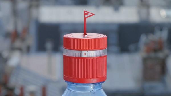 多喝水準沒錯,彈出式小旗子提醒你該喝水啦