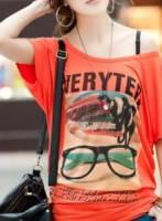 《正品玫瑰園》個性圖紋百搭長版T恤上衣 現+預