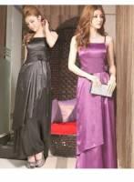 《正品玫瑰園》貴氣奢華長款晚宴禮服 三色