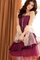 《正品玫瑰園》回眸驚艷浪漫斜擺晚宴禮服