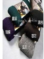《完美比例》百搭麻花紋襪 顯瘦修腿褲~ .紫