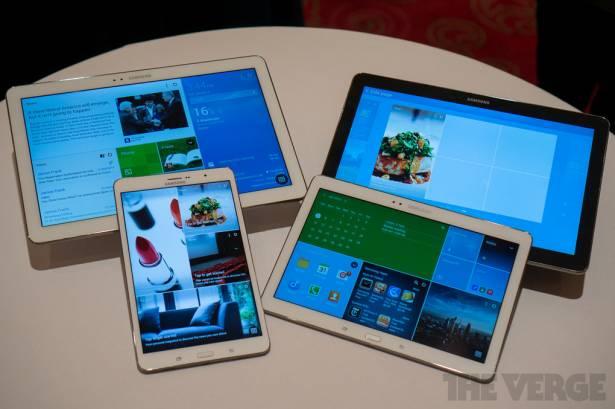 Samsung公佈NotePro, TabPro新系列, 展示全新主頁界面 [影片]