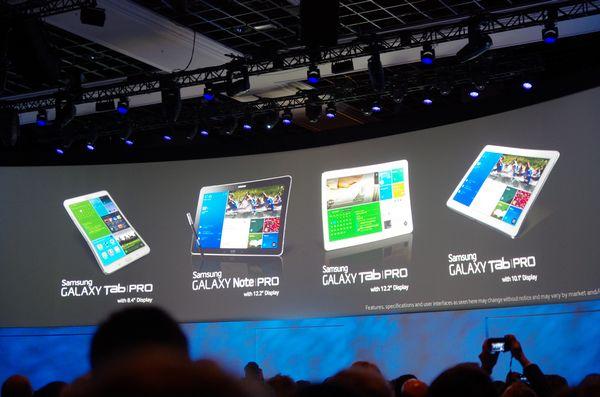 CES 2014 :三星發表 Galaxy NotePRO 、 TabPRO 系列平板