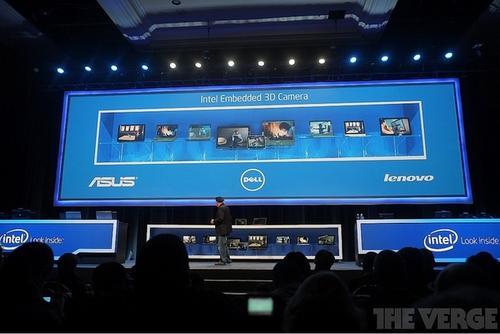 CES 2014:Intel 將讓電腦內建 3D 動作感應攝影系統