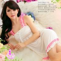 《Ayoka》花開風情!甜美柔緞睡襯衣
