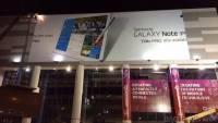 CES 2014:在會場的看板上赫然發現三星的Galaxy Note Pro以及Tab Pro