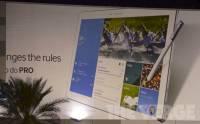Samsung Note Pro提早曝光: 官方廣告板 實機流出 [圖庫]