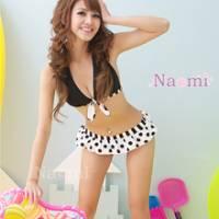《Naomi》青春樂曲!俏麗甜心三件式泳裝