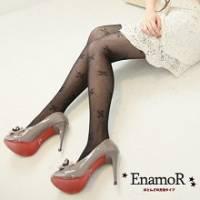 《EnamoR》氣質寶貝˙ 甜蜜蝴蝶結滿滿內搭褲襪