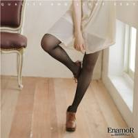 《EnamoR》視覺系重點‧閃亮亮點綴薄黑褲襪