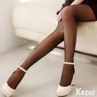 《kozue》氣質女優 水玉透膚彈性褲襪 -