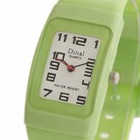 Dinal 粉彩寶貝 女孩專屬甜心腕錶 綠