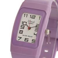 Dinal 粉彩寶貝 女孩專屬甜心腕錶 紫