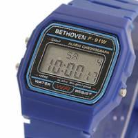Bethoven 那一年,女孩 輕薄時尚電子腕錶 藍