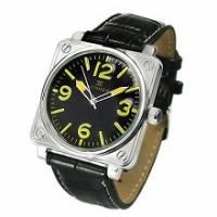 【歐系伯爵】綠色方塊錶