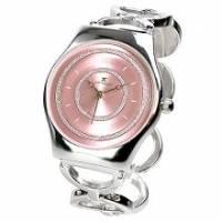 【圓戀璀璨】粉飾輕薄型鍊錶