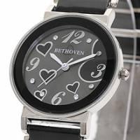 Bethoven 繽紛甜心 可愛精選腕錶 黑