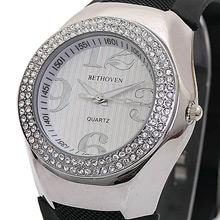 Bethoven 夢幻巨星 奢華晶鑽腕錶 (黑)