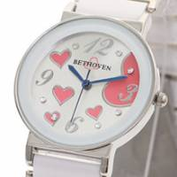 Bethoven 繽紛甜心 可愛精選腕錶 白