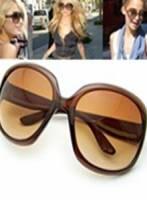 《完美比例》時尚棕框墨鏡~棕