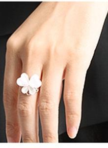 《完美比例》蝴蝶閃鑽吊墬戒指