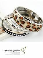 《完美比例》大氣多層豹紋手環
