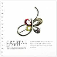 新光飾品‧七彩佳麗妹妹水晶胸針XZ88015