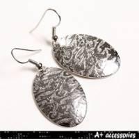 A+ accessories 遺忘-時尚基本款花紋耳環