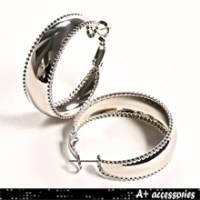 A+ accessories 春天漫步-時尚基本款簡約耳環