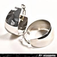 A+ accessories 幸福-時尚基本款水滴耳環