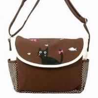 《iSPurple》貓の物語夢遊裡休閒斜背包