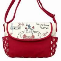 《iSPurple》貓の物語愛唱歌休閒斜背包