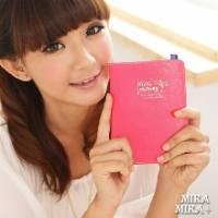 《MIKA MIKA》時尚首爾‧簡約高質感護照夾 桃