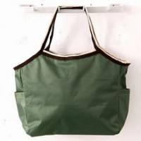 《iSPurple》魅力玩色自然風尼龍防水包-深綠