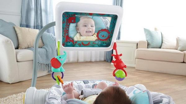 安撫哭鬧的Baby-IPAD嬰兒椅