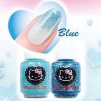 HELLO KITTY指甲油 璀璨藍 -HKNC484