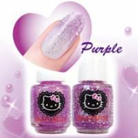 HELLO KITTY指甲油 璀璨紫 -HKNC483
