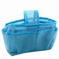 《藍色網狀》隨身多格包中袋
