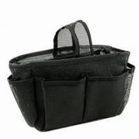 《黑色網狀》隨身多格包中袋
