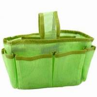 《綠色網狀》隨身多格包中袋