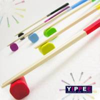 【YIPPEE】樂活主義-彩色試管環保筷 隨機 *