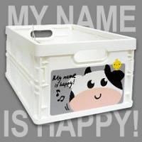 Happy Cow 輕巧折疊收納箱~超可愛摺疊收納
