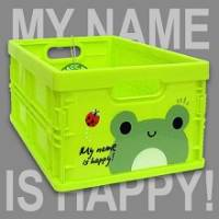 Happy Frog 輕巧折疊收納箱~超可愛摺疊收納