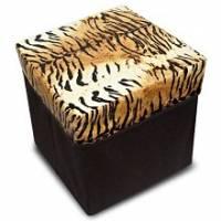 Wally Fun●時尚風情【野性風】收納椅 可當收納置物 坐椅使用