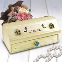韓版木製超Q珠寶收納盒~附留言小黑板喔