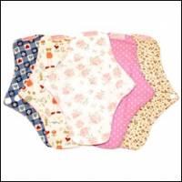 一般型日用布衛生棉 24cm標準 5件組