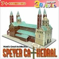3D立體拼圖之-世界好好玩-德國施派爾大教堂