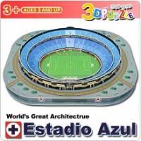 3D立體拼圖之-世界好好玩-Estadio Azul體育場
